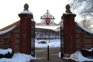 A Harvard kapuja