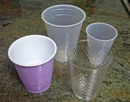 A műanyag pohár számos típusa