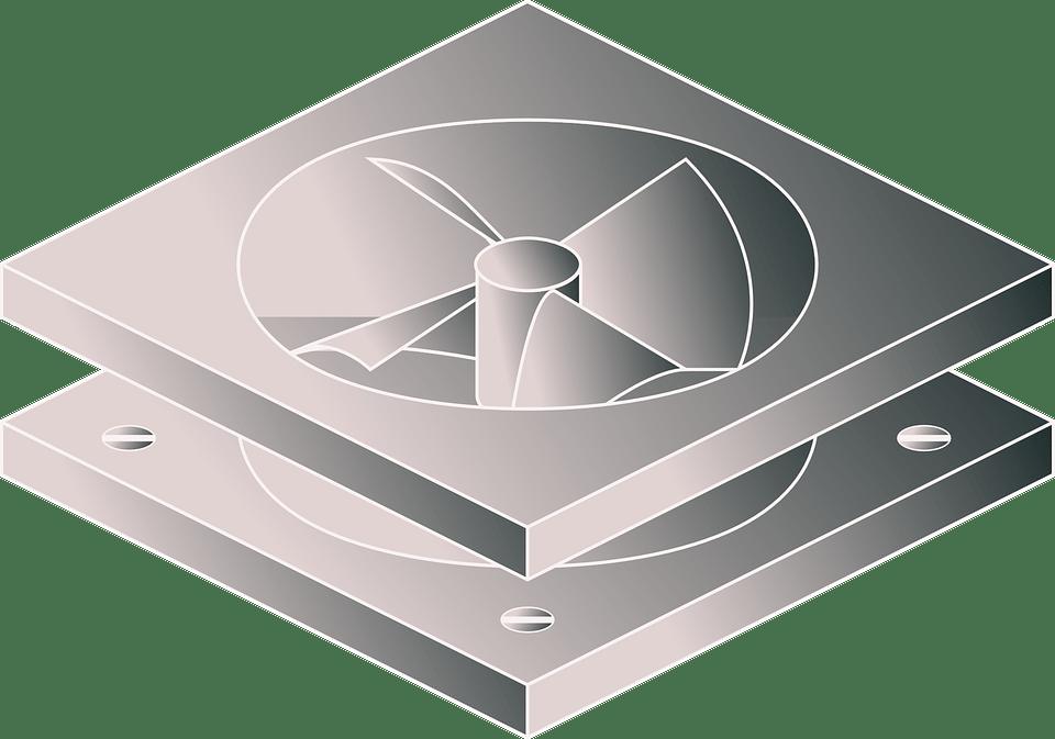 Blauberg csendes ventilátor