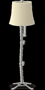 LED állólámpa